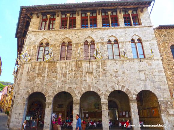 Palazzo Malfatti hotel Massa Marittima Italy