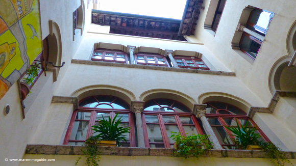 Palazzo Malfatti hotel in Massa Marittima Tuscany Italy
