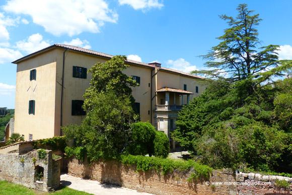 Palazzo Ricci Busatti Sorano Tuscany