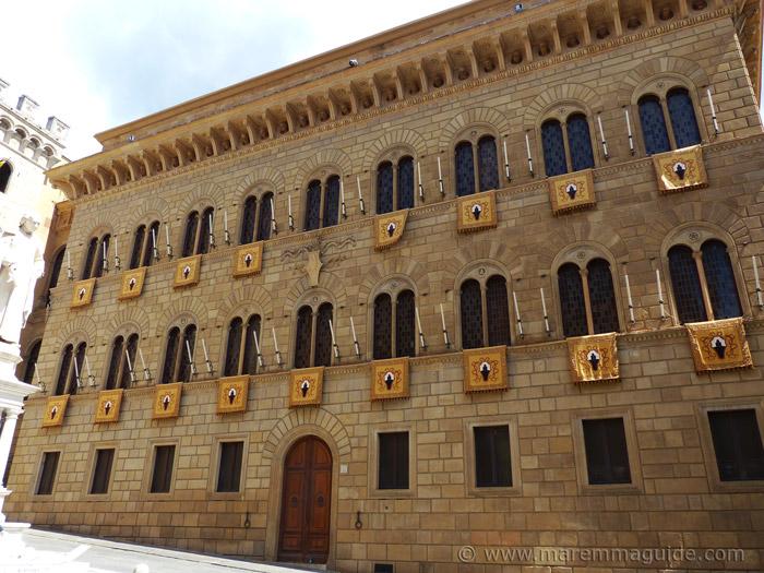 Palazzo Spanocchi Siena.