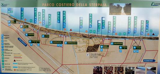 Parco Costiero della Sterpaia, Riotorto Maremma Tuscany