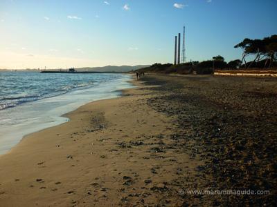 Perelli 1, 2& 3 beach Riotorto - Piombino Maremma Tuscany