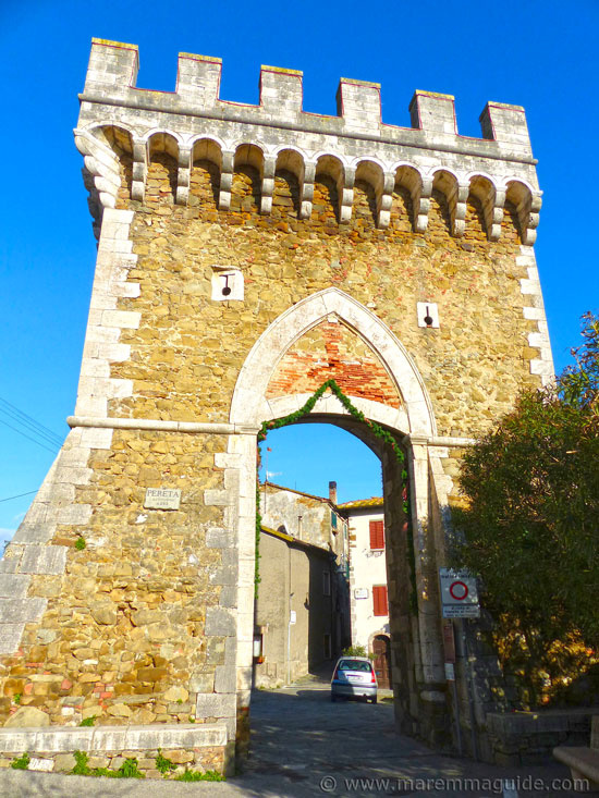 Porta di Ponente Pereta in Maremma Tuscany