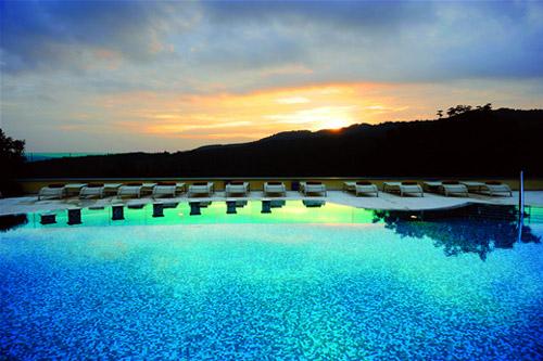 Petriolo Spa in Tuscany, Maremma Italy