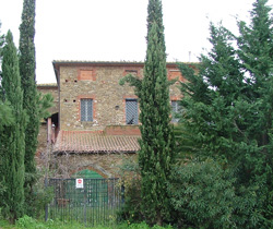 View of building in Pian di Rocca