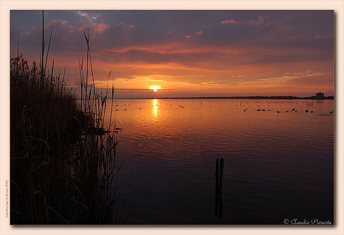 Sunrise over Lago di Burano