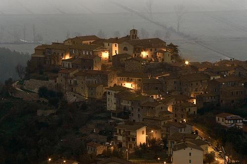 Alba at Sassa d'Ombrone