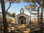 Tuscany beach church, Baratti Maremma