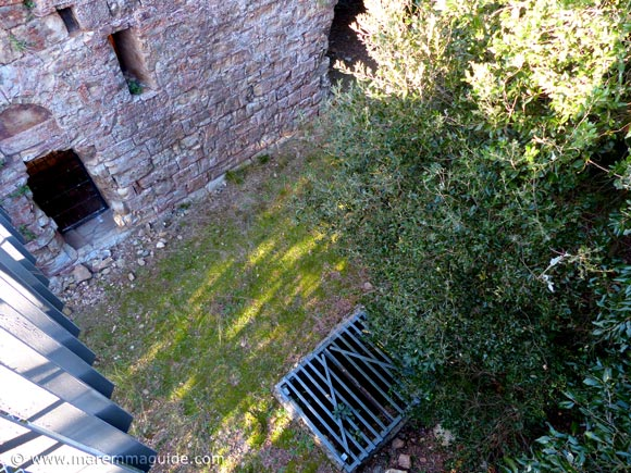 Pievaccia: view from the tree-top walkway