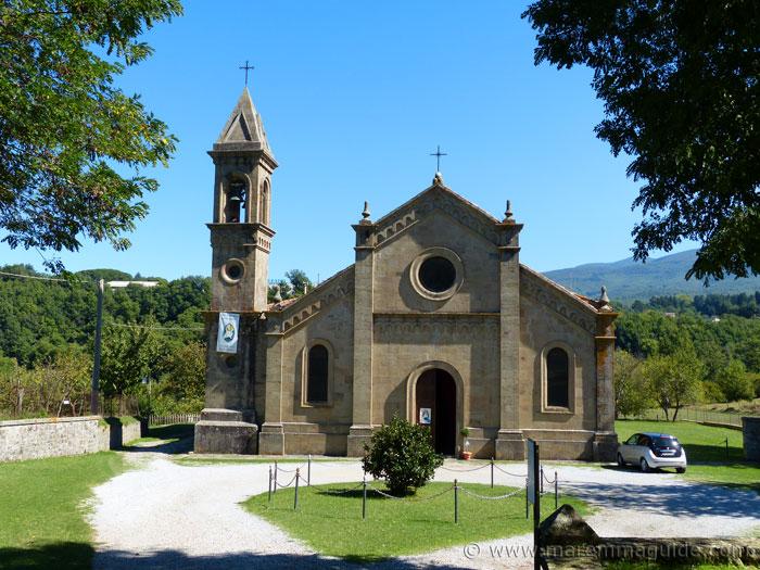 Pieve di Santa Maria ad Lamulas Montelaterone Monte Amiata Maremma Tuscany Italy