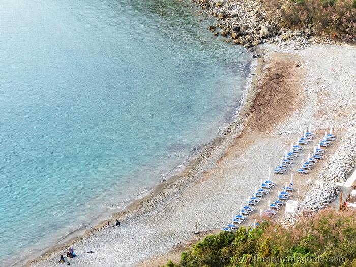 Piombino Calamoresca beach.