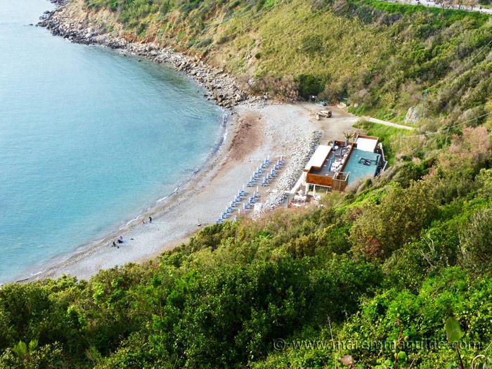 Calamoresca Piombino beach.