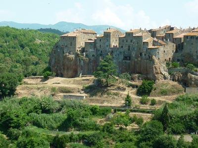 Pitigliano Maremma Italy