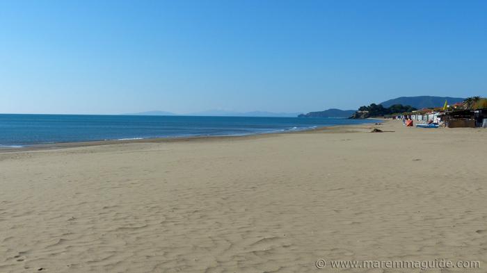 Ponente beach Castiglione della Pescaia, Tuscany