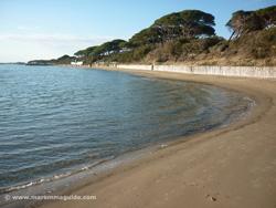 Ponente beach Follonica Maremma Tuscany