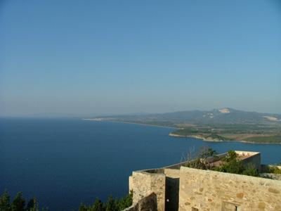 Maremma Livornese coast: Costa degli Etruschi view from Poulonia