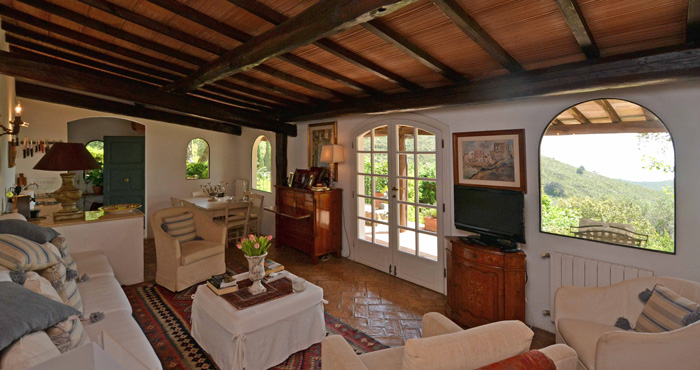 Traditional stone and restored Porto Ercole property for sale.