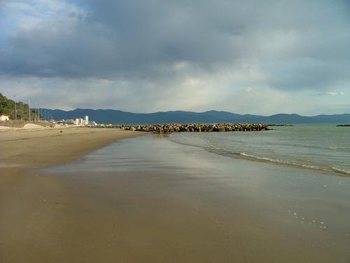 Pratoranieri beach, Follonica, Maremma Italy