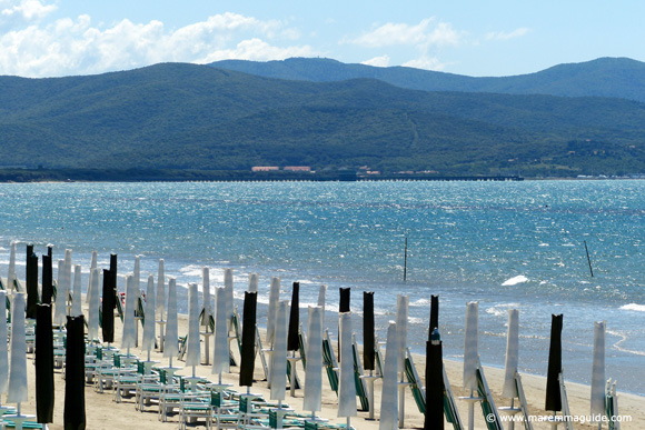 Pratoranieri beach Follonica