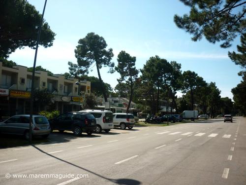 Principina a Mare shops Grosseto Maremma