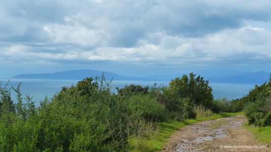 Punta Ala to Rocchette sentiero: Maremma coastal path Tuscany