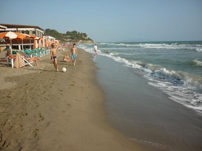 Punta Capezzolo beach Castiglione della Pescaia Tuscany Italy