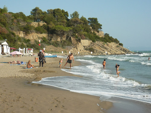 Punta Capezzolo spiaggia Castiglione della Pescaia Maremma Tuscany Italy