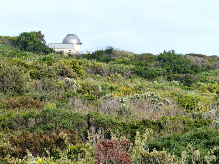 Punta Falcone osservatorio astronomico