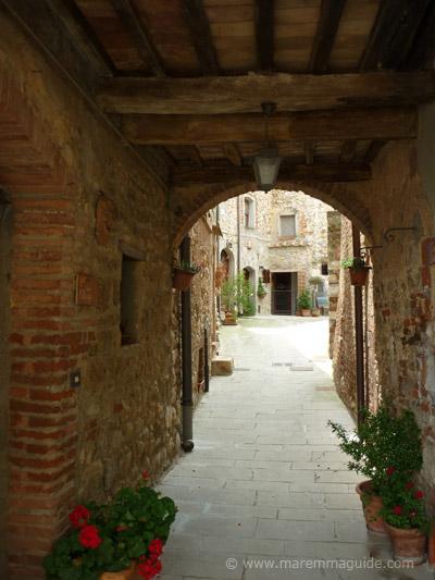 Ravi Dark Ages castle in Maremma Tuscany Italy