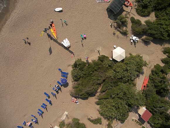 Riva del Sole beach watersports.