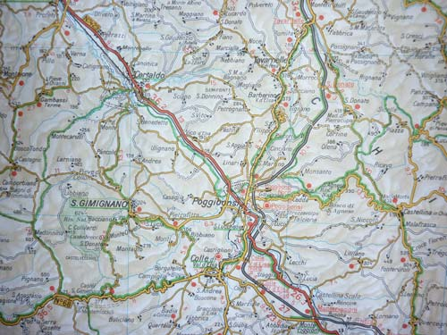 Road maps of Italy: Driving maps Italy