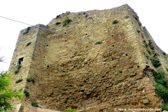 Rocca Aldobrandesca Buriano Maremma Tuscany