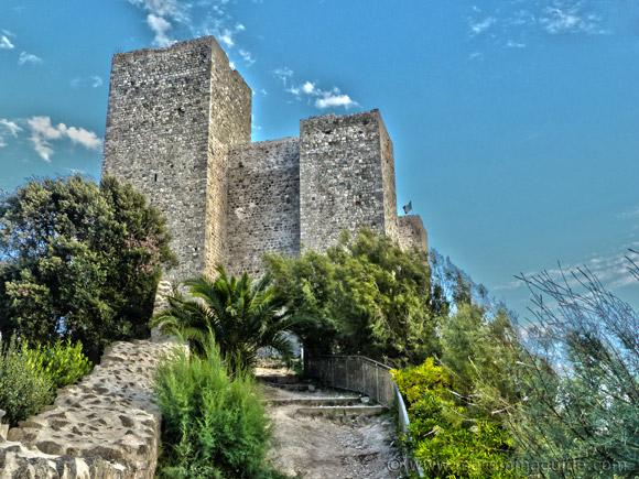 Rocca Aldobrandesca in Talamone Tuscany Italy