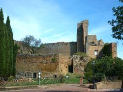 Rocca Aldobrandesca di Sovana in Maremma Tuscany