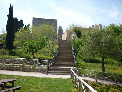Castles from the middle ages: La Rocca di Campiglia Marittima