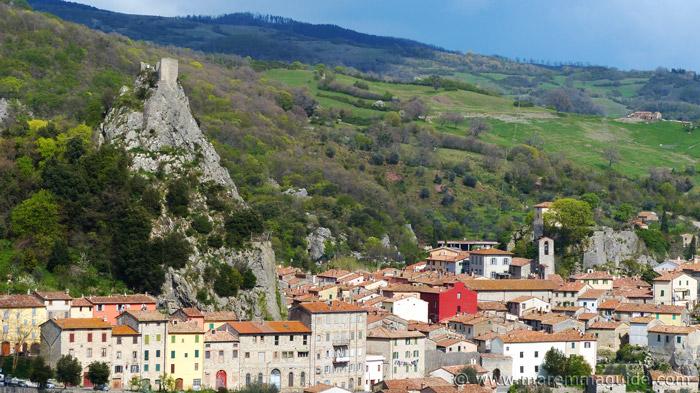 Rocca di Roccalbegna Tuscany Italy