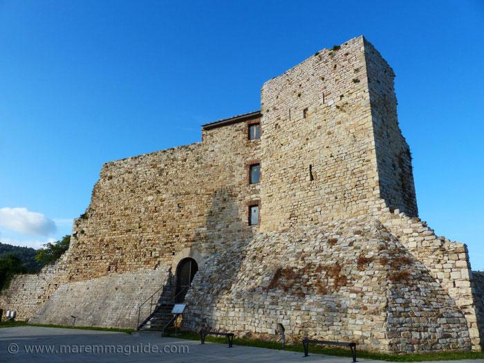 Rocca di Suvereto castle and fortress.
