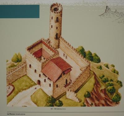 Rocca Pisana, Scarlino Castle Maremma Italy