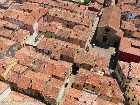 Roccalbegna Tuscany Italy.