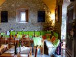 Cana Roccalbegna restaurant in Maremma