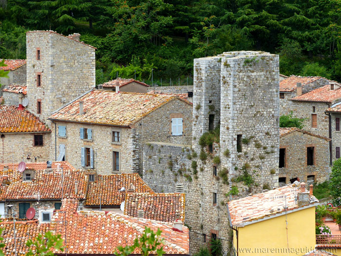 Roccalbegna Torre Senese