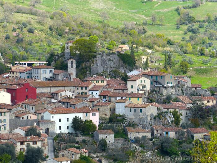 Roccalbegna Tuscany