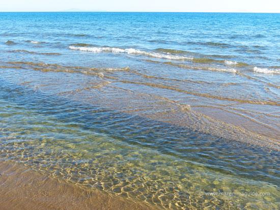 Roccamare beach in September