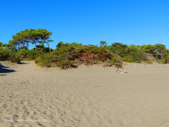 Roccamare beach Castiglione della Pescaia