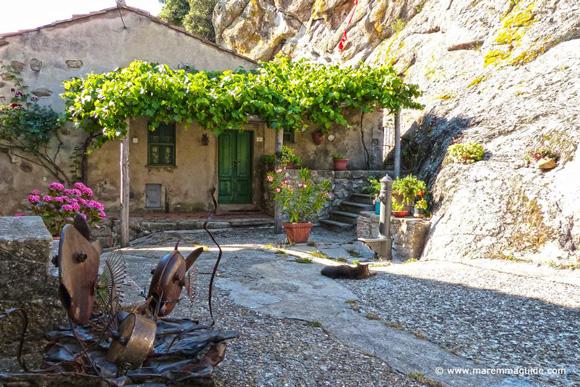 House for sale in Maremma: Roccatederighi case in vendita