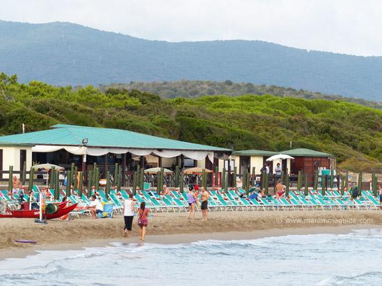 Rocchette beach Castiglione della Pescaia Tuscany