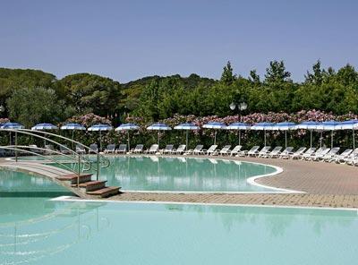 Rocchette residence: Camping Villa Baiai Azzurra