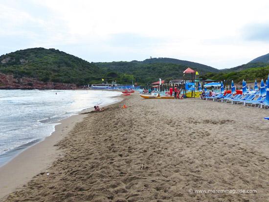 Rocchette spiaggia Castiglione della Pescaia Toscana
