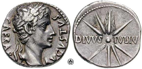 Roman cilver coins.