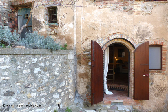 Romantic bed and breakfast Maremma Tuscany